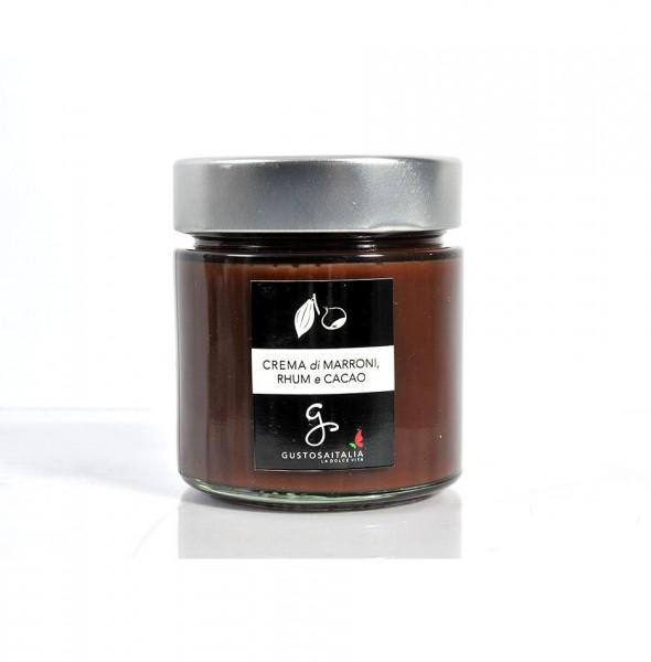 Crema di Marroni, Rhum e Cacao 1
